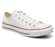 Chuck Taylor All Star Leather Ox W Sneaker in weiß