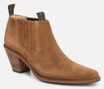 Jane 7 Low Chelsea Boot Stiefeletten & Boots in braun