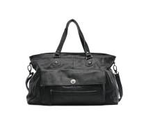 Totally Royal leather Travel bag Handtasche in schwarz
