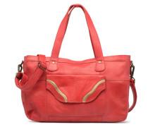 Imsa Leather Shoulder Bag Handtasche in rot