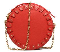 YO Cuir Circle bag Handtasche in rot