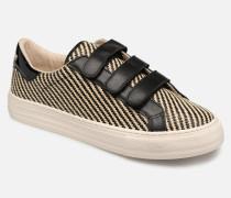 Arcade Straps RaphiainNappa Sneaker in schwarz