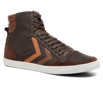 Slimmer Stadil Oiled High Sneaker in braun
