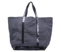 Cabas Lin paillettes M+ Handtasche in blau