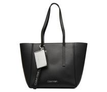 CK BASE MEDIUM SHOPPER Handtasche in schwarz