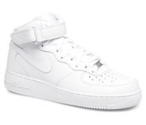 Air Force 1 Mid Sneaker in weiß