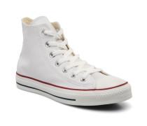 Chuck Taylor All Star Leather Hi W Sneaker in weiß