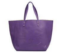 Paul & Joe Sister CABAS PERFORE CHAT Handtasche in lila