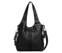 Isla Shopper Handtasche in schwarz