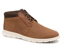 Graydon Leather Mid WR Stiefeletten & Boots in braun