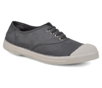 Tennis Lacets Sneaker in grau