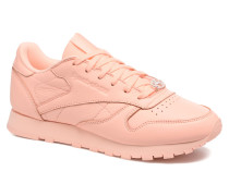 Cl Lthr L Sneaker in orange