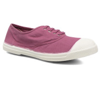 Tennis Lacets Sneaker in lila