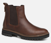 London Square Double Gore Chelsea Stiefeletten & Boots in braun