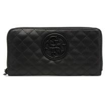 G Lux Large Zip Around Portemonnaies & Clutches für Taschen in schwarz
