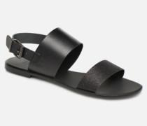 FLORA L Sandalen in schwarz