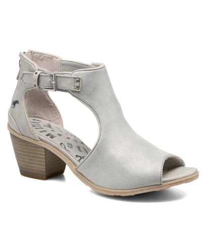 Mustang Damen Theda Stiefeletten & Boots in silber Footaction Online-Verkauf T8nqmT3f