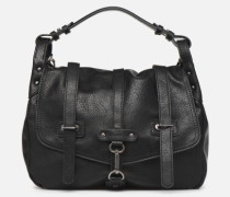Bernadette Satchel Handtasche in schwarz