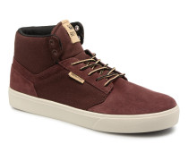 YOREK HIGH Sneaker in weinrot