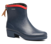 Miss Juliette Botillon Fur Stiefeletten & Boots in blau