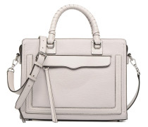 Bree MD Top Zip Satchel Handtasche in grau