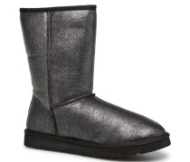 UMA HIGH METAL Stiefel in silber