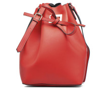 Deena Bucket Bag Handtasche in rot
