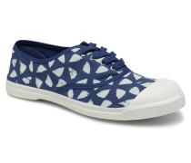 Indigoprint Sneaker in blau