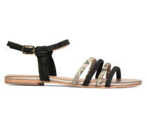 Bombay Babes Sandales Plates #5 Sandalen in schwarz