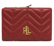 New Compact Wallet Small in rot
