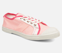 Fines Rayures Sneaker in rosa