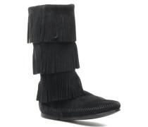 3 LAYER FRINGE BOOT Stiefeletten & Boots in schwarz