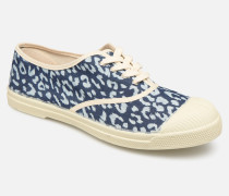 Tennis Lacet Panthere Sneaker in blau