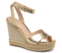 CLODIA Espadrilles in goldinbronze