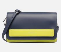 Crossbody Coquette Handtasche in blau
