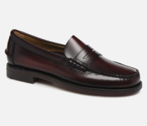 Classic Penny Brushed C Slipper in weinrot