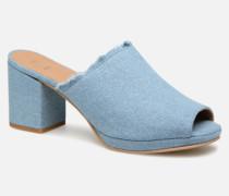 SALLY D Clogs & Pantoletten in blau