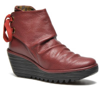 Yama Stiefeletten & Boots in rot
