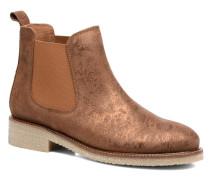 Boots semelle crepe Stiefeletten & in goldinbronze