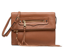 SMALL REGAN CLUTCH Handtasche in braun
