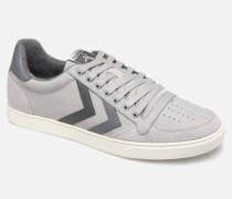 Slimmer Stadil Duo Oiled Low Sneaker in grau