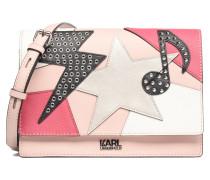 Patchwork Shoulderbag Handtaschen für Taschen in rosa