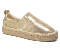 Vicky Espadrilles in goldinbronze