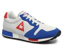 Omega Nylon Sneaker in blau