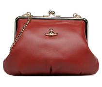 Emma Frame Purse Handtasche in rot