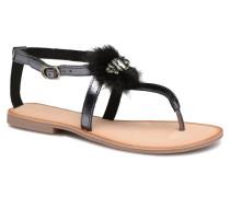 Hevafe Sandalen in schwarz