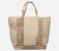 Cabas M+ SaintValentin Handtasche in beige