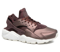 Wmns Air Huarache Run Prm Txt Sneaker in weinrot