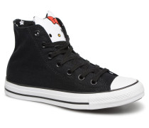 Chuck Taylor All Star Hi Hello Kitty Sneaker in schwarz