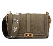 Love crossbody with beaded GS Handtasche in grün